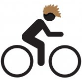 Label image for Enable Adoption of Bicycle Helmets that Do Not Mess Up the Cyclists Hair