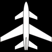 Label image for adoption of three-lifting-surfaces in transport airplane
