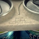 Close-Up View - SaltWater Edible Six Pack Ring