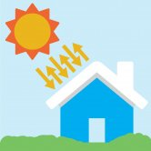 Label image for Increase Sunlight Reflectance of Building Roofs in Hot Weather