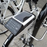 Smart Lock of SoBi Social Bicycles in Hoboken