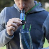 Using the Filter with a Straw - Sawyer MINI Water Filter