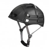 Unfolded Overade Plixi Helmet for Cyclist - Side View