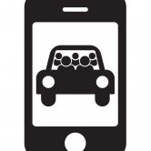 Carpool App Concept Icon