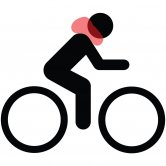 Label image for Adoption of Airbag for Cyclist Neck Protection