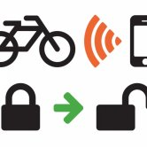 Label image for Enable Locking-Unlocking of Bicycle Lock through Proximity with SmartPhone