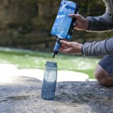 Using the Filter with the Pouch to Fill a Bottle - Sawyer MINI Water Filter