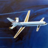 Boeing NASA Airliner Concept with Three Lifting Surfaces