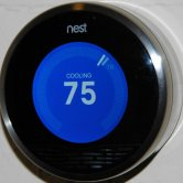 Nest Thermostat Front