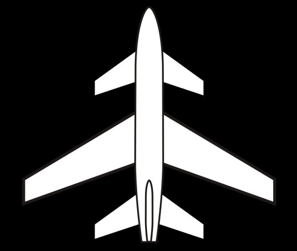 Three-Lifting-Surface Airplane Configuration Planform
