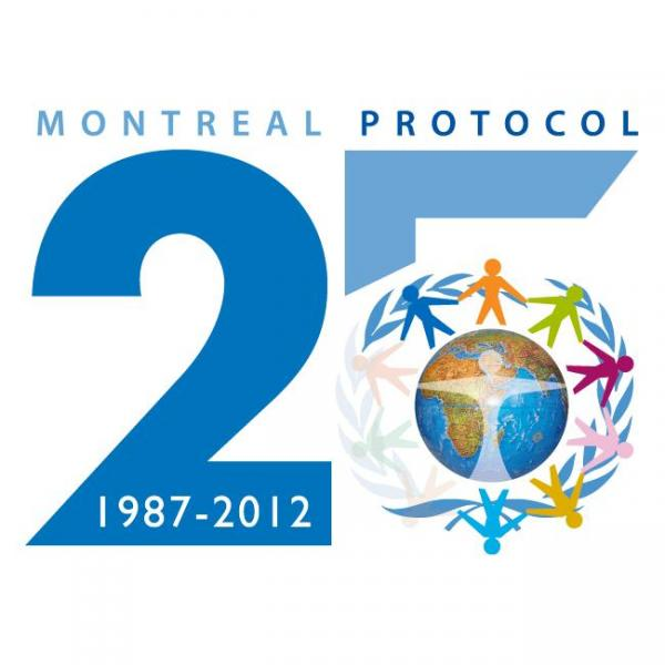 Montreal Protocol on Substances that Deplete the Ozone Layer 25 Years Poster