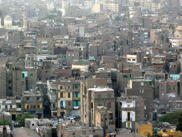 Old Cairo Slums