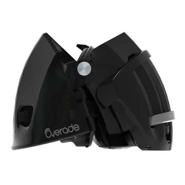 Folded Overade Plixi Helmet for Cyclist - Side View