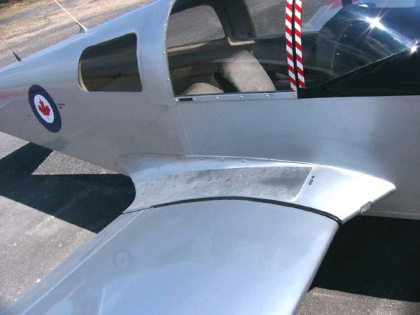 Wing Root Fairing in a Small Airplane