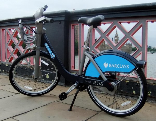 Barclays Cycle Hire Bike