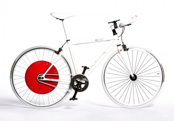 Bicycle with Copenhagen Wheel