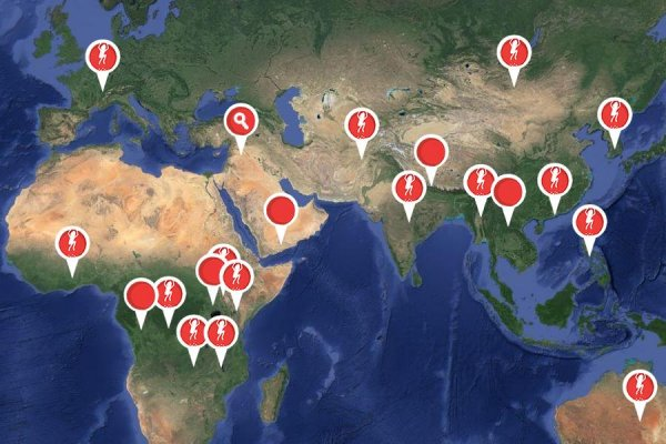 Map of Vaccination Campaigns Supported by the Measles and Rubella Initiative