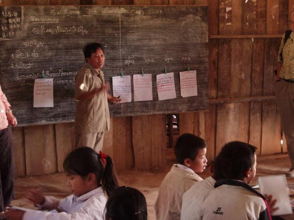Primary School Teacher in Laos